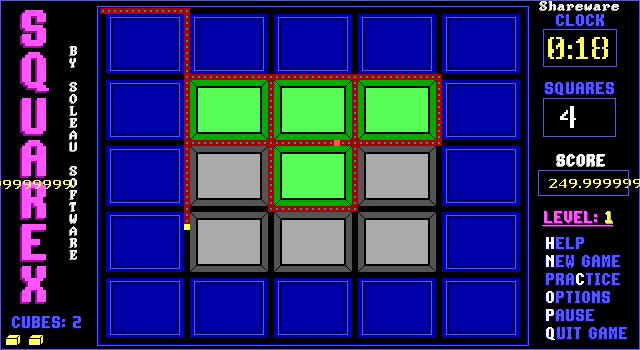 Squarex screenshot 1