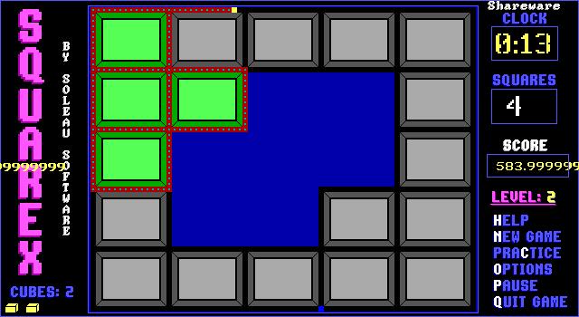 Squarex screenshot 2