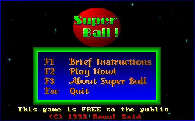 Super Ball screenshot 3