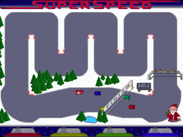 Super Speed Christmas Edition screenshot 1
