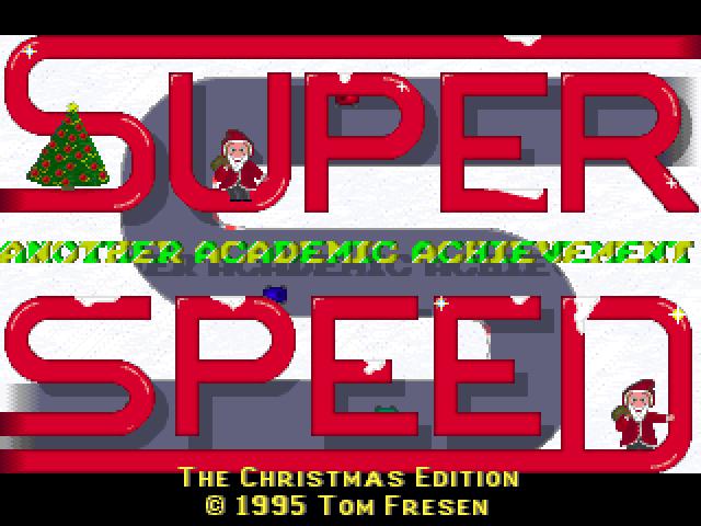 Super Speed Christmas Edition screenshot 2