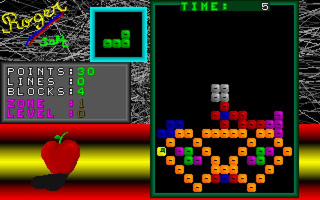 Super Tetris screenshot 1