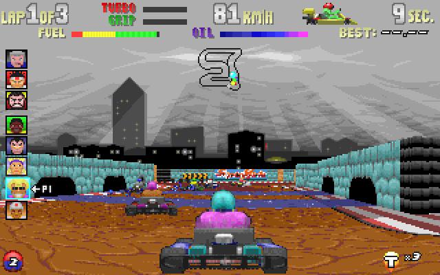Superkarts screenshot 1