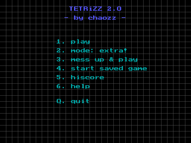Tetrizz screenshot 3