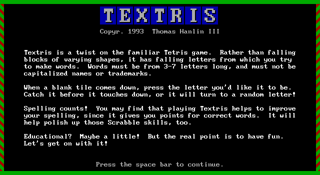 Textris screenshot 3