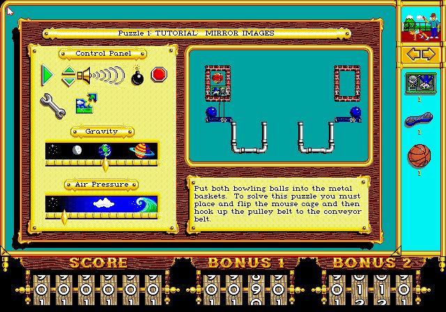 The Incredible Machine screenshot 2