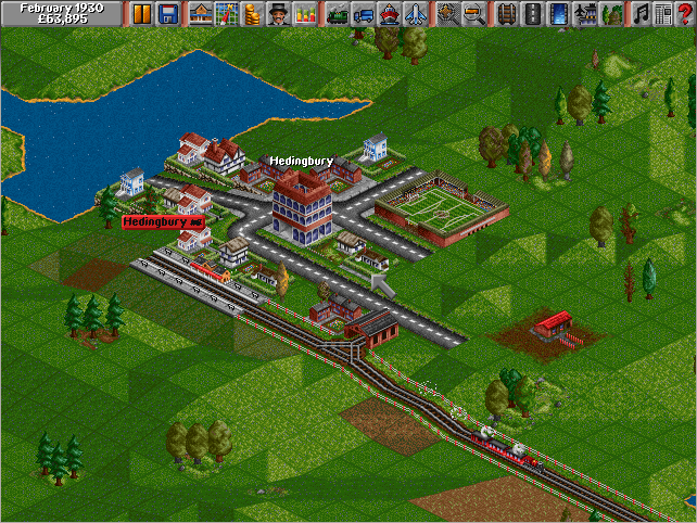 Play Transport Tycoon online - PlayDOSGames com