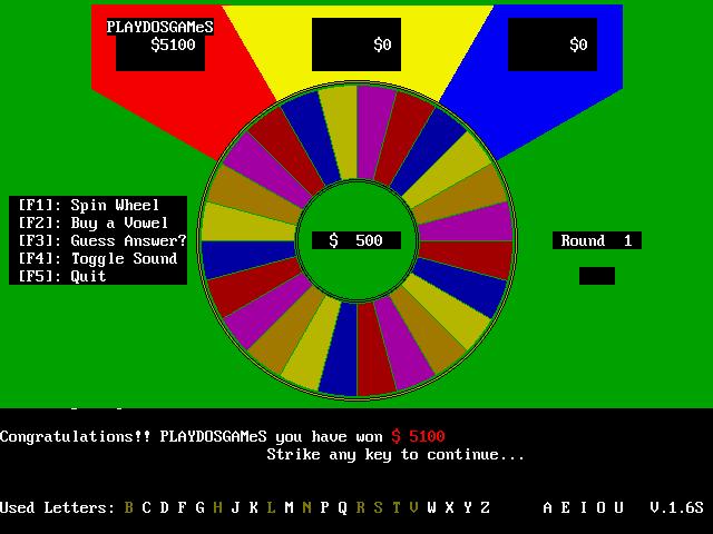VGA Wheel screenshot 2