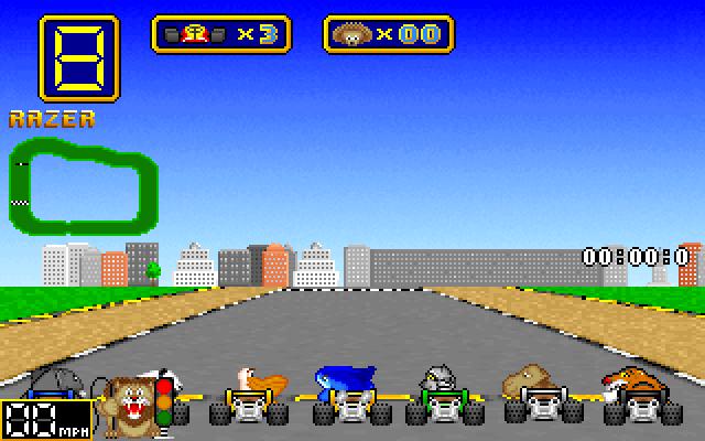 Wacky Wheels screenshot 2