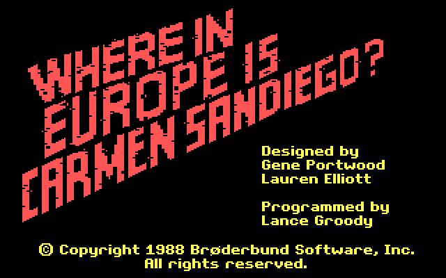 Where in Europe is Carmen Sandiego? screenshot 3