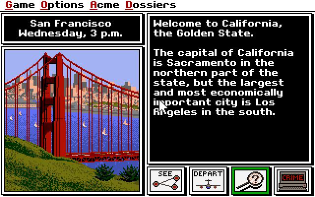 Where in the USA is Carmen Sandiego? screenshot 1