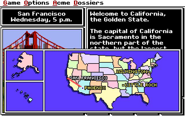 Where in the USA is Carmen Sandiego? screenshot 2