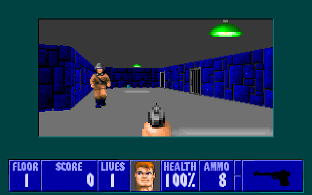 Wolfenstein 3D screenshot 1