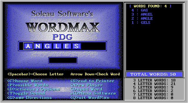 Wordmax screenshot 1