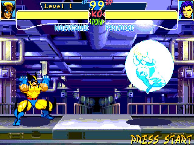 X-Men: Children of the Atom screenshot 1